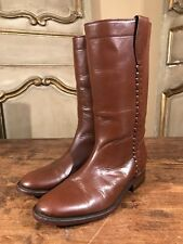 VTG Botas Vaqueras 7 Womens Tall Campus Riding Boots In Size 8.5