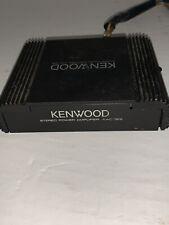 Kenwood Kac-322 2-Channel Car Amp/Amplifier Vintage tested