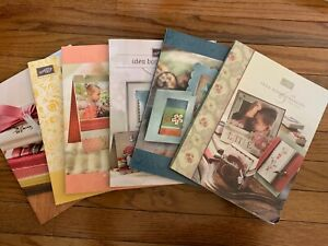 Stampin Up Idea Book and Catalog Lot of 6 catalogs
