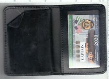 2020 CEA CAPTAIN CARD in a LEATHER FAMILY MEMBER WALLET NOT LBA SBA  PBA