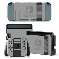 Retro NES  Skin Sticker for Nintendo Switch Console Joy-Con Dock DECAL WRAP