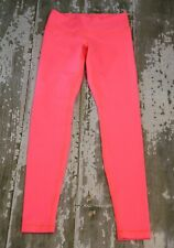 LULULEMON Womens WUNDER UNDER Leggings Pants Full-On Luon Electric Coral Gym 6