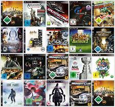 PlayStation 3 Spiele gebraucht in TOP-Zustand (PS3) - NHL, AC, Midnight Club...
