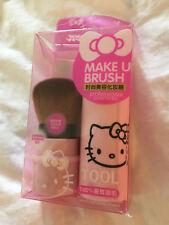 Brand New Sanrio Pink Hello Kitty Kabuki Brush Bronzer Powder Blush Brush