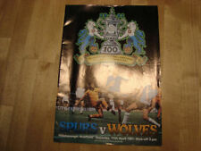 Tottenham Hotspur FA Cup Home Team Final Football Programmes