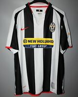 JUVENTUS ITLAY 2007 2008 HOME FOOTBALL SHIRT JERSEY MAGLIA NIKE SIZE M