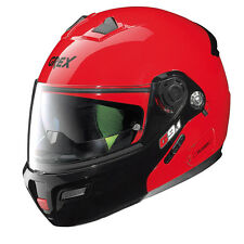 CASCO MODULARE GREX G9.1 EVOLVE COUPLE N-COM - 16 Corsa Red TAGLIA XL