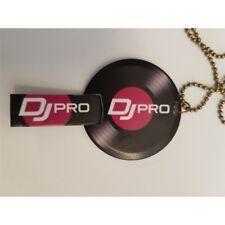 DJ PRO THE NECK pennetta usb pen drive 8GB collana vinyl disco metal box