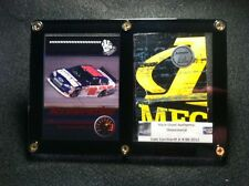 Dale Earnhardt Jr Card Display: Race Used Metal from his Race Car at Darlington!