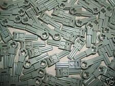 LEGO 15 x Technic Pole Reverser Handle 6553 GREY