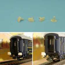 4 TAMPONS EN RESINE POUR VOITURES CIWL FRANCE TRAINS