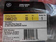 GE THMC3121 FUSE KIT  30Amp  250Volt - NEW