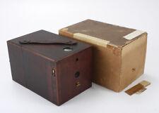 KODAK NO. 2 EUREKA, USES 3-1/2 X 3-1/2 PLATES, TORN BOX, FEW ISSUES/cks/195977