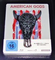American Gods La Complète Relais 1 Limitée steelbook blu ray Neuf & Ovp