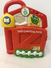 Counting Farm Leap Frog Tad's Electronic Storyblock Numbers Book W/Block