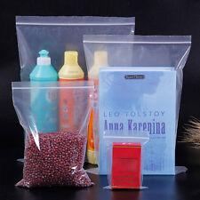 100pcs/lot ZIP LOCK Bags Clear reclosable Grip Seal Bag Plastic bag PE
