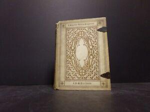 1884 Smaller Biblia Pauperum-Facsimile Edition-John Wycliffe-Vellum
