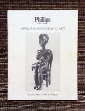 RARE 1987 Phillips Auction Catalog: African and Oceanic Art, New York