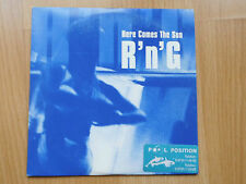 PROMO- CD- Single: R'N'G- Here Comes The Sun