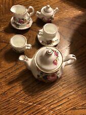 American Girl Samantha's Partial Tea Set EUC RARE RETIRED