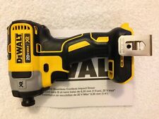 "New Dewalt DCF887B 1/4"" 3 Speed 20V 20 Volt Max XR Brushless Impact Driver"