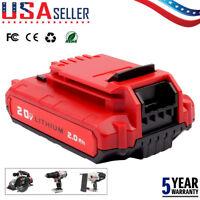 Battery for Porter Cable PCC685L PCC680L PCC682L PCC685LP 20V MAX 2.0AH LITHIUM