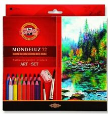 Mondeluz Aquarell Watercolor Pencils 72 colors KOH-I-NOOR 3714 SUPER PRICE