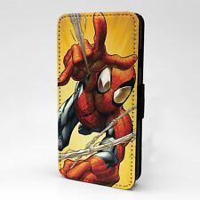 For Mobile Phone Flip Case Cover Marvel Spiderman - G802