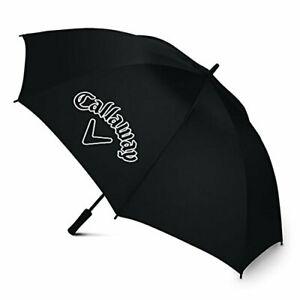 """CALLAWAY GOLF UMBRELLA  60"""" SINGLE CANOPY - BLACK - NEW 2021"""