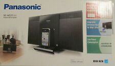 New listing Panasonic Sc-Hc27 Compact Stereo System Cd /Fm/ iPhone / iPod Dock New Sealed