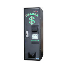 American Changer Ac1001 Front Load Banknote Changer With Vending Base