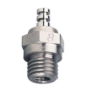 O.S. 71608001 #8 Glow Plug Long Medium Air / Car