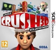 Puzzle Crush 3d | Nintendo 3ds | NUOVO & OVP | tedesco *