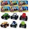 6Pcs/Set Blaze and the Monster Machines Vehicles Diecast Racer Car Toy Kids -AU