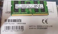 Fujitsu - DDR4 - 16 GB - SO DIMM 260-PIN - 2133 MHz / PC4-17000