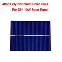 2x6 3x6 6x6 Solar Cell Cells PV Poly Mono Powerful for DIY 12V Solar Panel