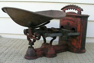 Antique American Machine Co. Perfection Scale Size 2 Original Condition