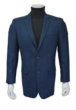 Andre Lanzino Wool Blue single breasted 2button blazer