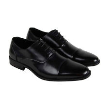 Unlisted by Kenneth Cole Design 303031 Mens Black Cap Toe Oxfords Shoes 7