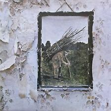Led Zeppelin IV (Orange & Plum label, Vinyl, G/VG cond., 1971, deluxe2401012)