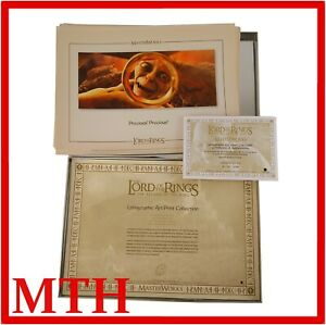 Lord Of The Rings Return Of The King Masterworks Lithographic Art Prints Limited