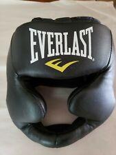 Everlast MMA Headgear Black Sparring 7420LXL