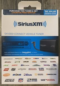 SiriusXM SXV300V1 Connect Vehicle Tuner Kit for Satellite Radio SXV300K