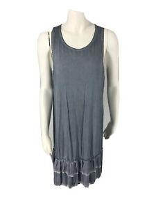 Dresses Size Medium Women's Maternity By PINKBLUSH Sleeveless Ruffle Hem Dress