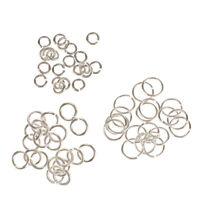 60x Sterling Silver 3mm 4mm 6mm Split Open Jump Rings (Link Jewlery Charms)