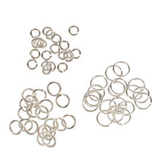 60x Sterling Silver 3mm 4mm 6mm Split Open Jump Rings (Link Jewlery Charms)