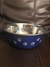 Pet Zone Large Stainless Steel Pet Bowl
