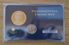 2015 -John F. Kennedy Presidential Commemorative Coin Set-w/$1 JOHN F. KENNEDY