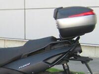 Shad G0FC58ST Soporte de Baul para Gilera Fuoco 500, Negro