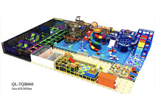 12,500 sqft Commercial Indoor Playground Themed Interactive Gym We Finance 100%